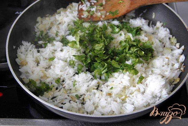 Фото приготовление рецепта: Мусака с овощами и рисом шаг №2
