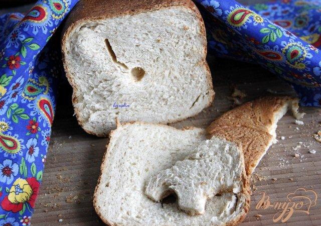 Фото приготовление рецепта: Хлеб на кефире шаг №4