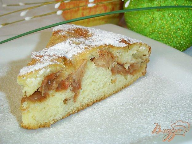 Рецепт Быстрый пирог с яблоками на кефире