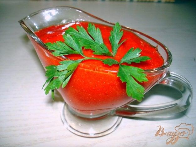 Рецепт Соус острый из помидоров и перца