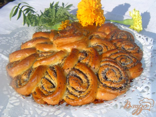 Рецепт Пирог-рулет с маком