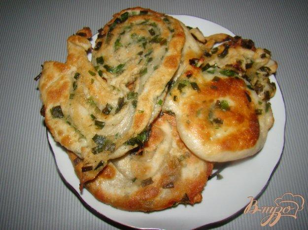 Рецепт Китайские блины с зеленым луком