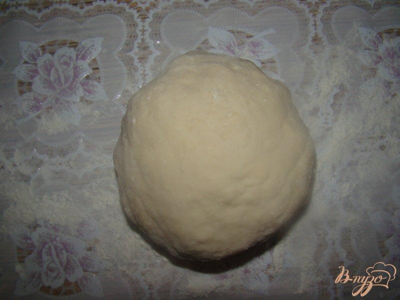 Фото приготовление рецепта: Китайские блины с зеленым луком шаг №3