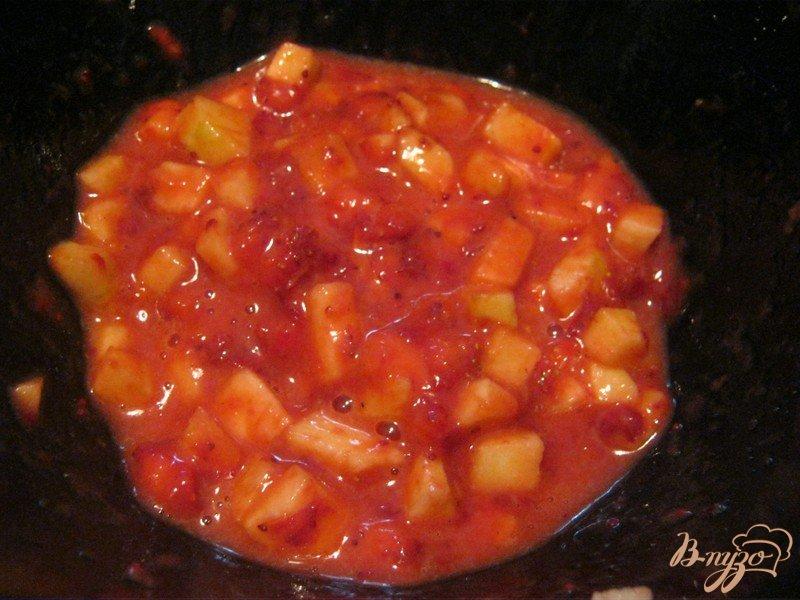 Фото приготовление рецепта: Слоёные конвертики с фруктовой начинкой шаг №2