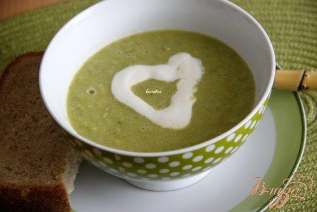 фото рецепта: Суп-пюре из зелёного горошка