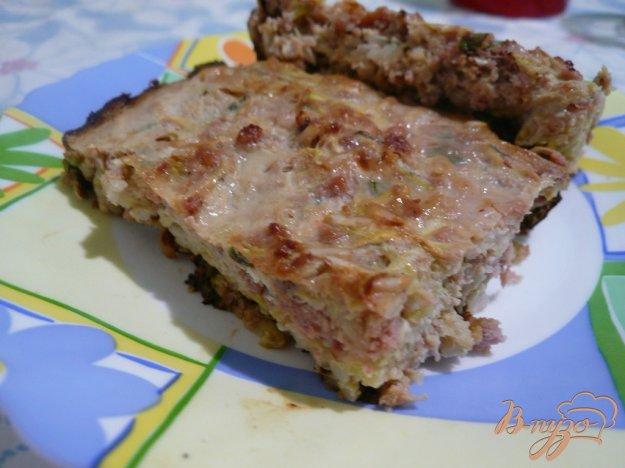 Рецепт Кабачковая запеканка с мясом и рисом