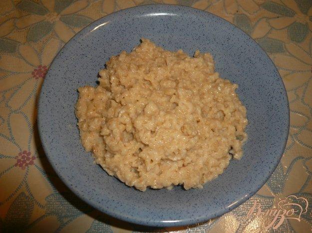 Рецепт Овсяная каша с кокосовым маслом