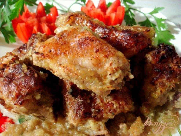 фото рецепта: Свиные рёбрышки из духовки