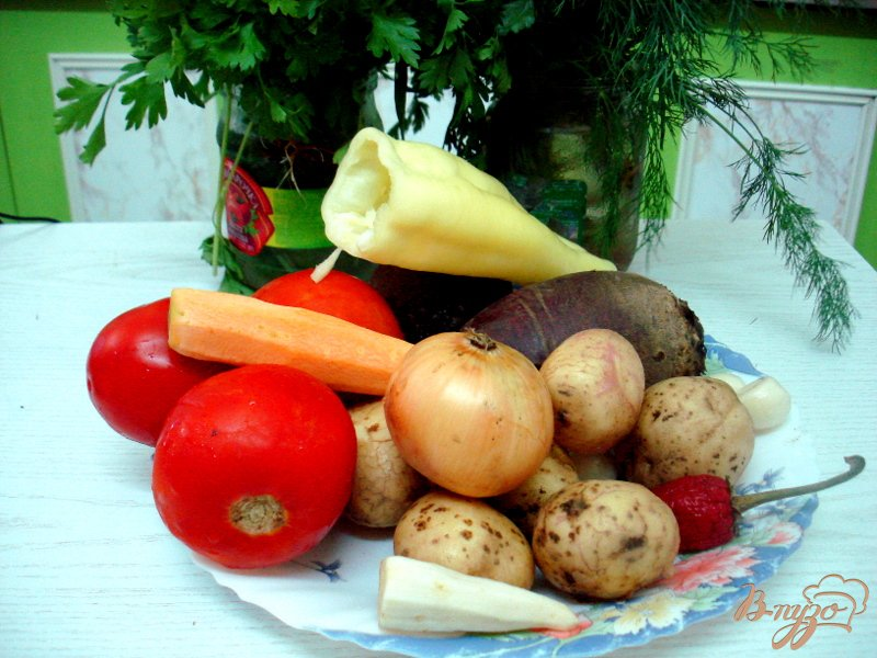 Фото приготовление рецепта: Свекольник по-львовски шаг №1