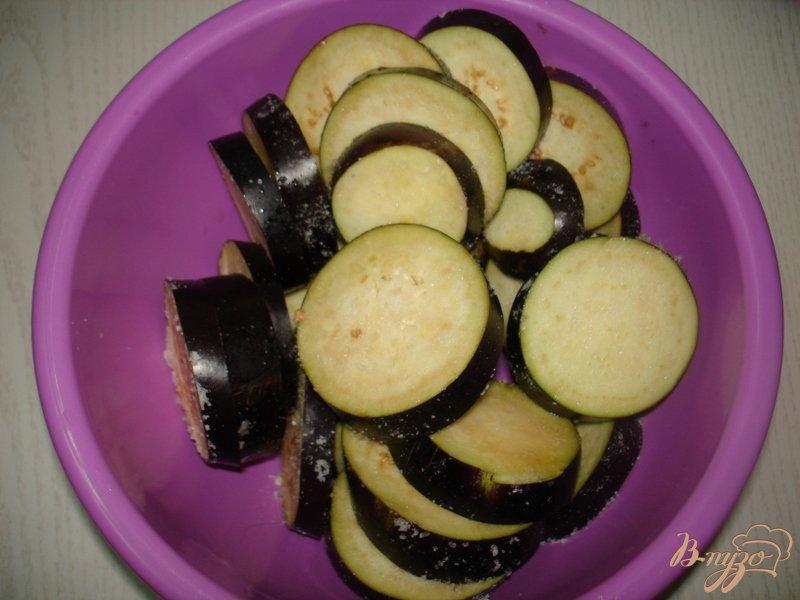 Фото приготовление рецепта: Закуска из баклажан и кабачков шаг №2