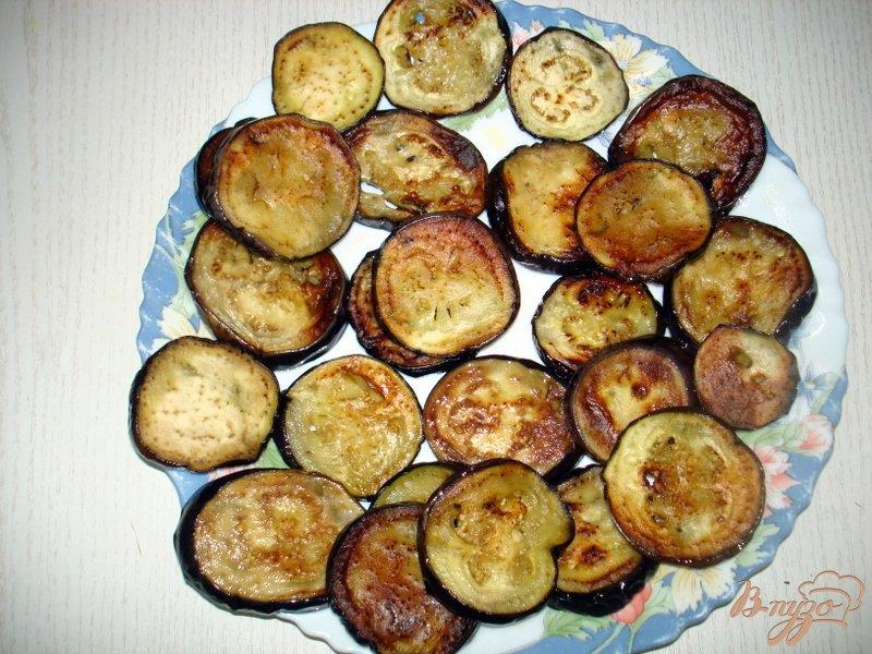 Фото приготовление рецепта: Закуска из баклажан и кабачков шаг №4