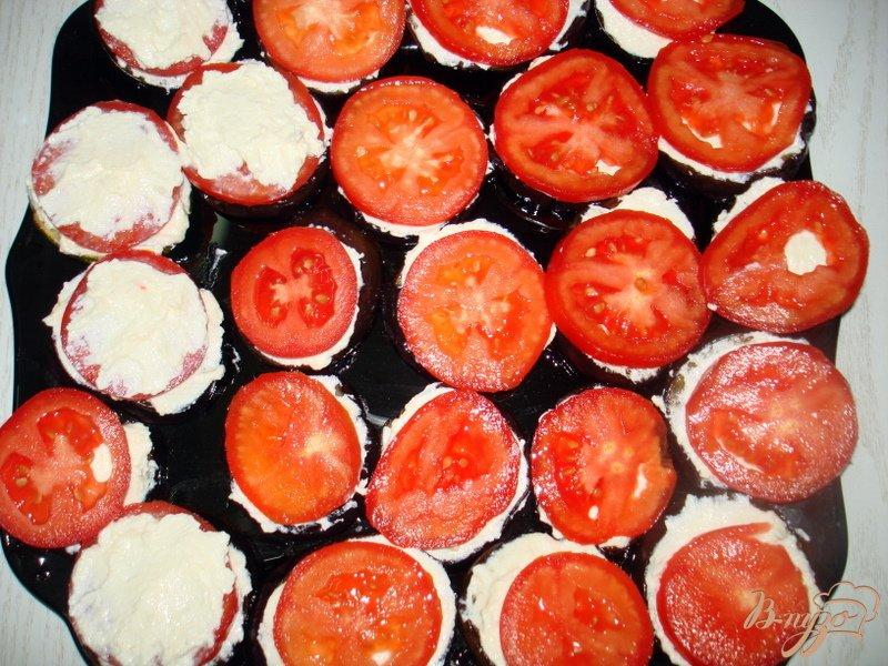 Фото приготовление рецепта: Закуска из баклажан и кабачков шаг №6