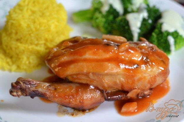 Рецепт Цыпленок барбекю