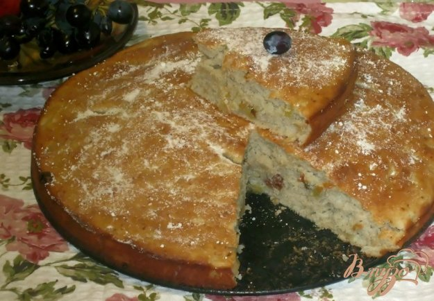 """Рецепт Пирог """"Неженка"""" с яблочным пюре"""