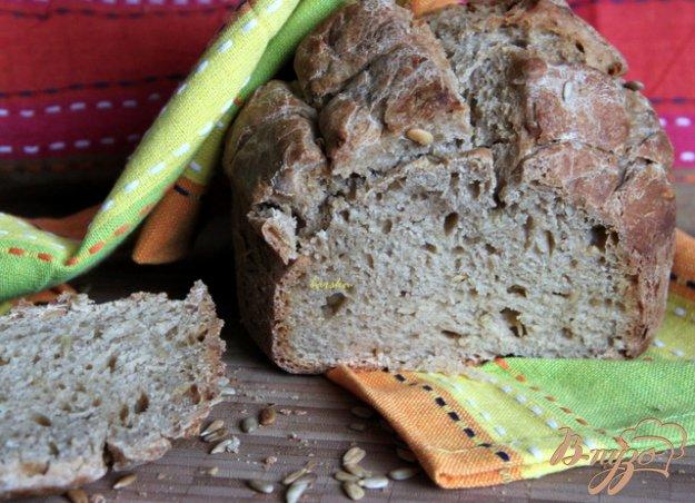 Рецепт Пшенично-ржаной хлеб с семечками на закваске