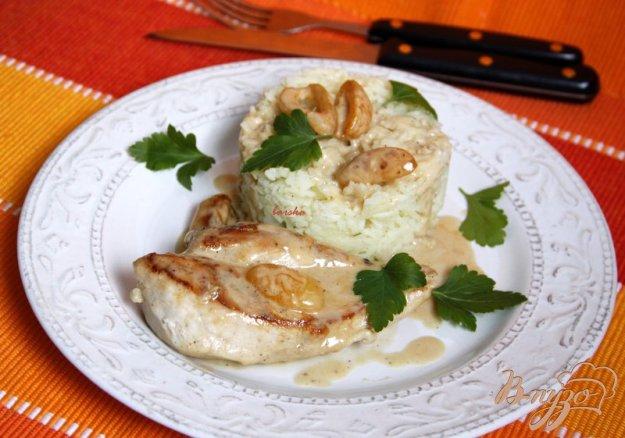 Рецепт Куриные грудки в сливочно абрикосовом соусе