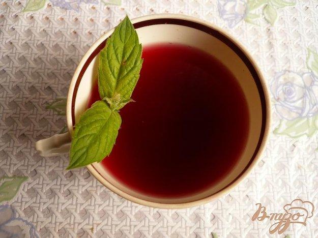 Рецепт Компот из винограда с мятой
