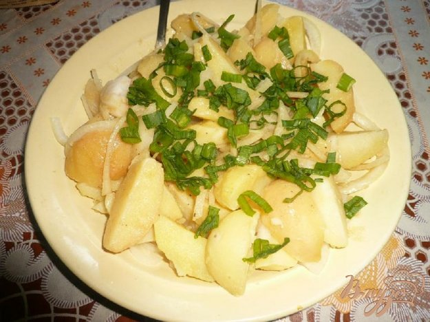 Рецепт Картофельный с горчичной заправкой