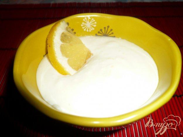 Рецепт Творожный ванильно-лимонный десерт
