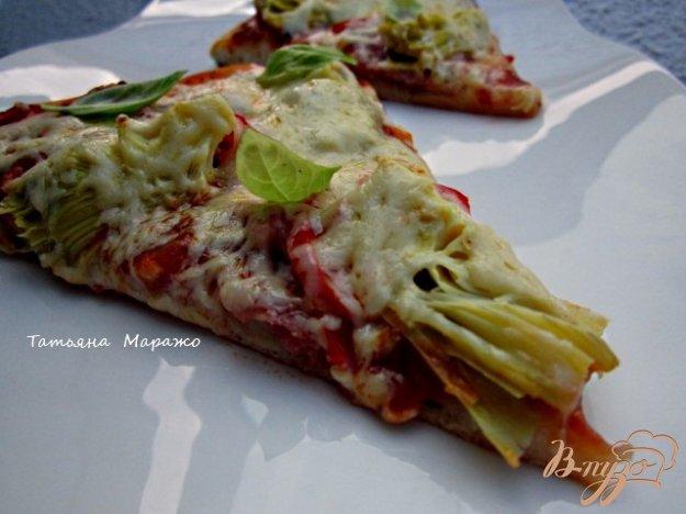 Рецепт Пицца с артишоками