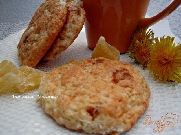 Рецепт Творожные лепешки с цукатами из ананаса