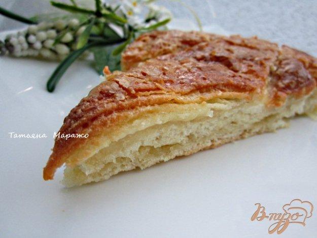 Рецепт Сладкий пирог из хлебного теста