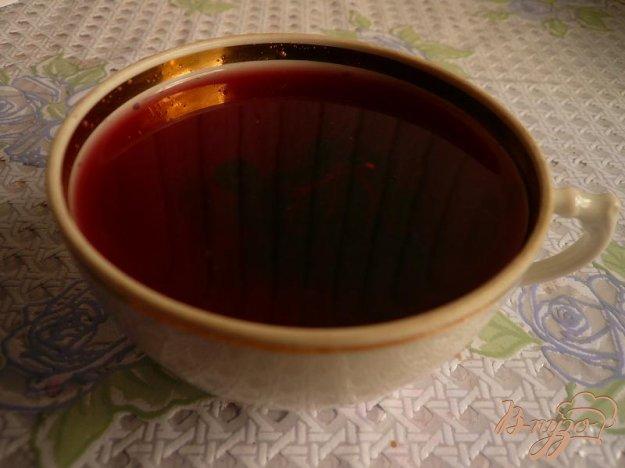 Рецепт Компот из черноплодной рябины с яблоком и мятой