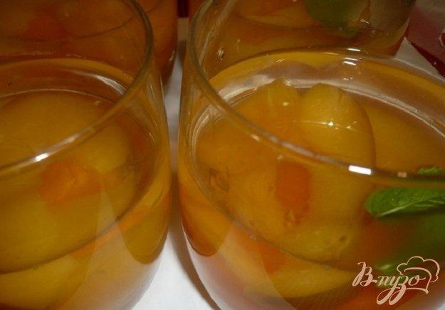 Рецепт Желе с абрикосами и нектарином