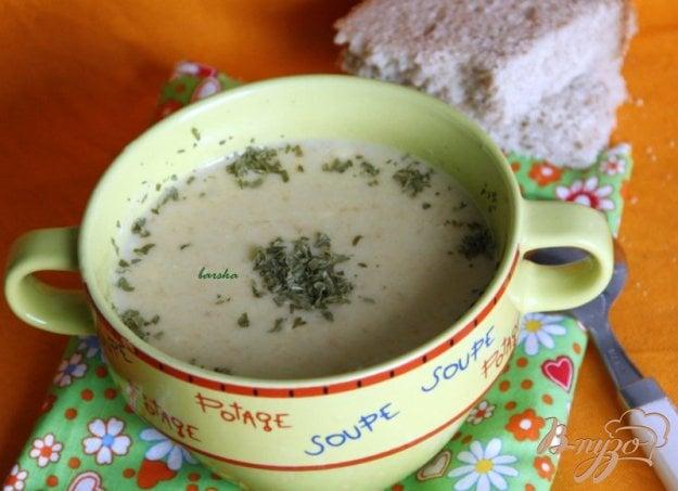 фото рецепта: Сырно-овощной крем-суп