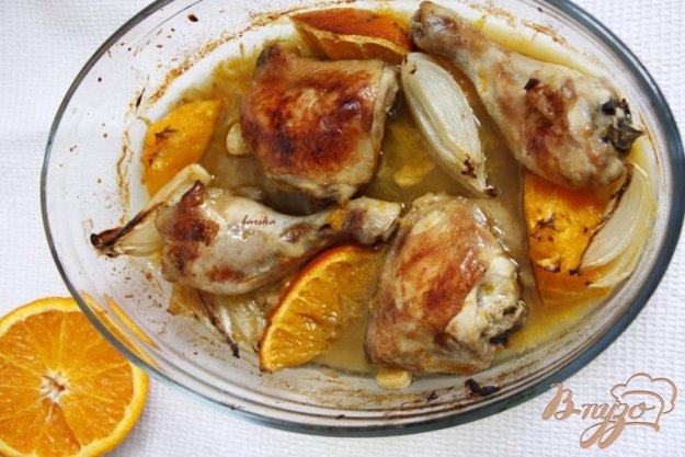 Рецепт Апельсиновые куриные бёдрышки