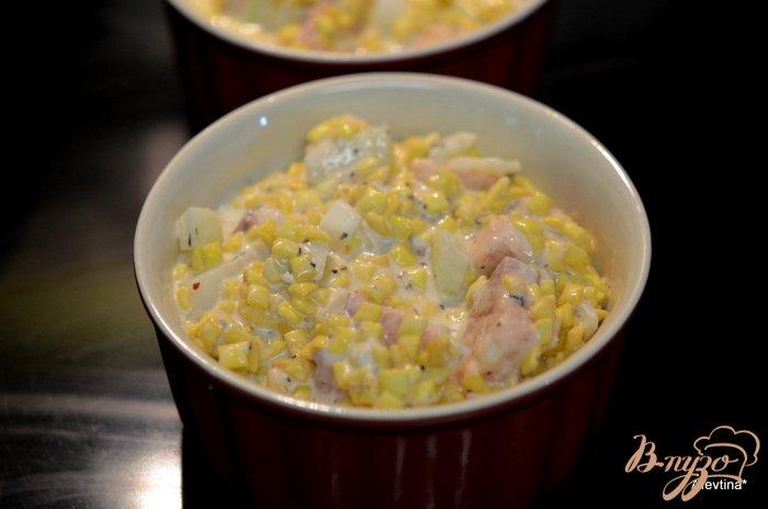 Фото приготовление рецепта: Семга в горшочках шаг №3