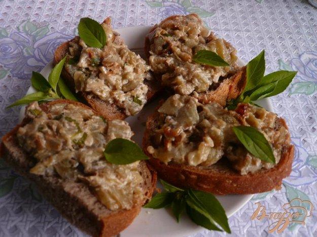 фото рецепта: Густой соус из баклажанов