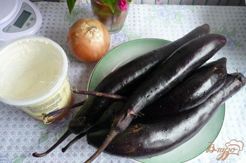 Фото приготовление рецепта: Густой соус из баклажанов шаг №1