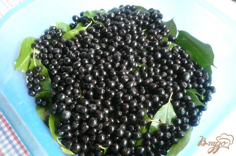 Фото приготовление рецепта: Сироп из черноплодной рябины на зиму шаг №5
