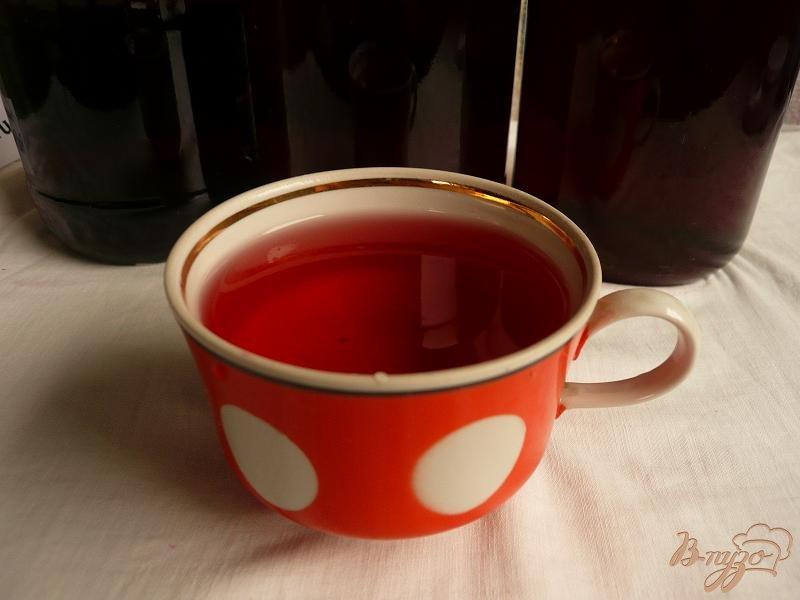 Фото приготовление рецепта: Сироп из черноплодной рябины на зиму шаг №10