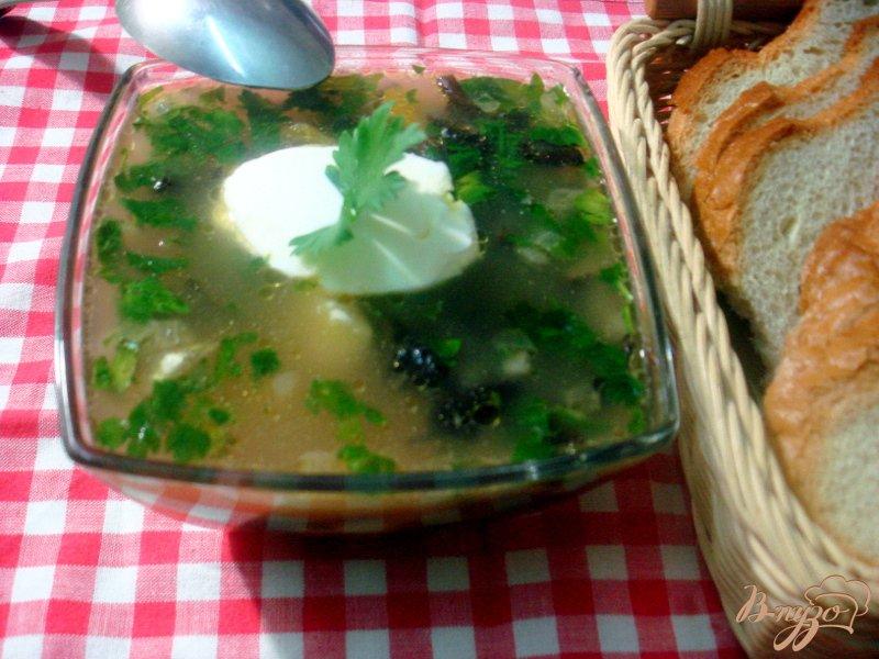 Фото приготовление рецепта: Суп грибной с опятами шаг №5