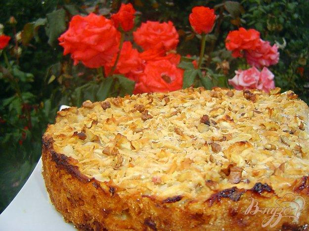 Рецепт Яблочный пирог болгарский