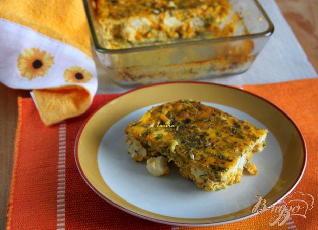 Рецепт Фриттата из куриного филе, тыквы, брынзы