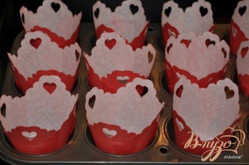 Красные бархатные капкейки
