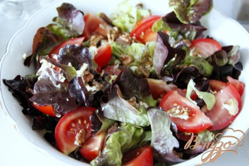 Перигорский салат. Salade perigourdine.