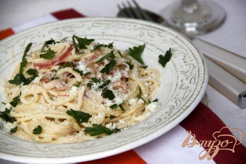 Спагетти с бальзамическим уксусом. Spaghetti all`aceto balsamico