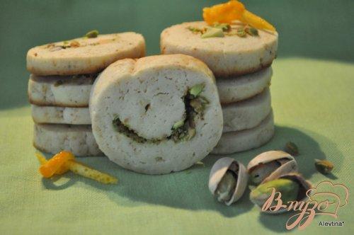 Фисташковое печенье