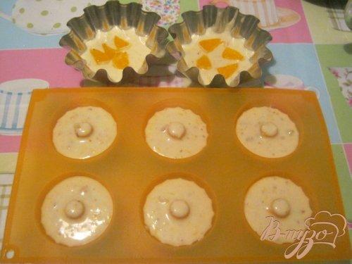 Апельсиновые кексы на кефире