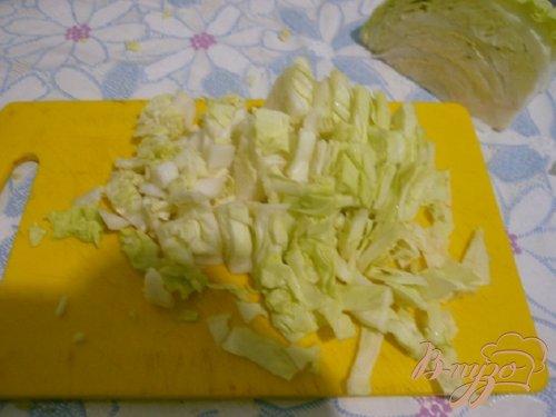 Суп с капустой и кабачком
