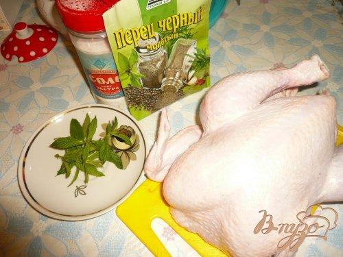 Цыпленок жареный в духовке