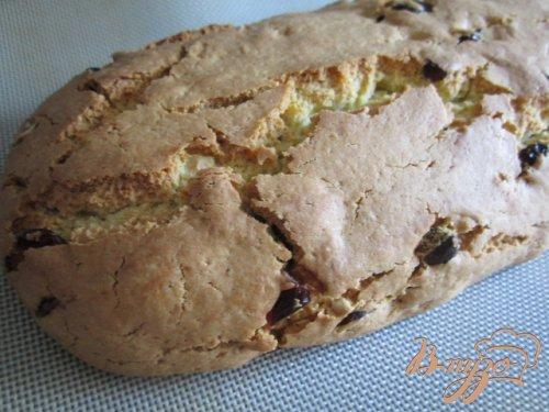 Бискотти с лесным орехом и сушеной клюквой