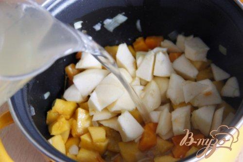 Суп пюре из тыквы и красной чечевицы