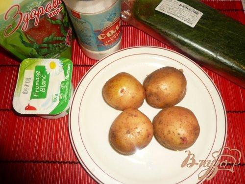 Картофель нарядный