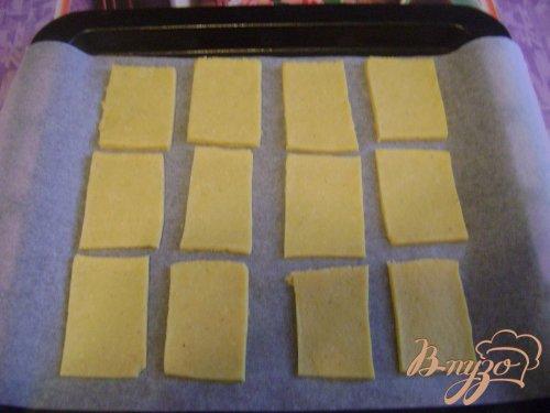 Печенье с сырным вкусом