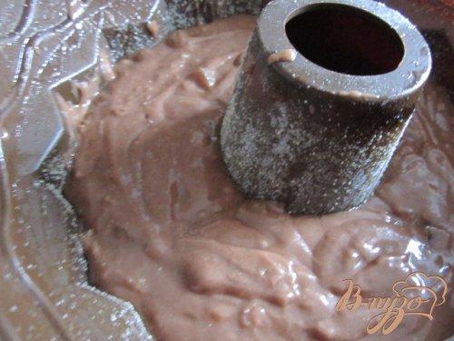 Шоколадный кекс с имбирем и цукатами папайи
